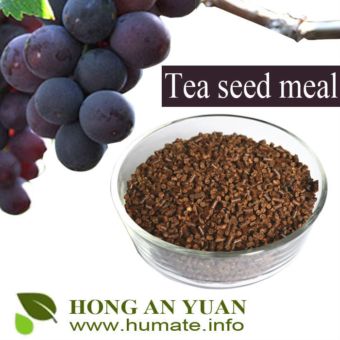 Tea Seed Meal/Cake/Powder/Pellet for Aquaculture, Organic Fertilizer