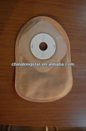 Disposable colostomy (Hydrocolloid adhesive)