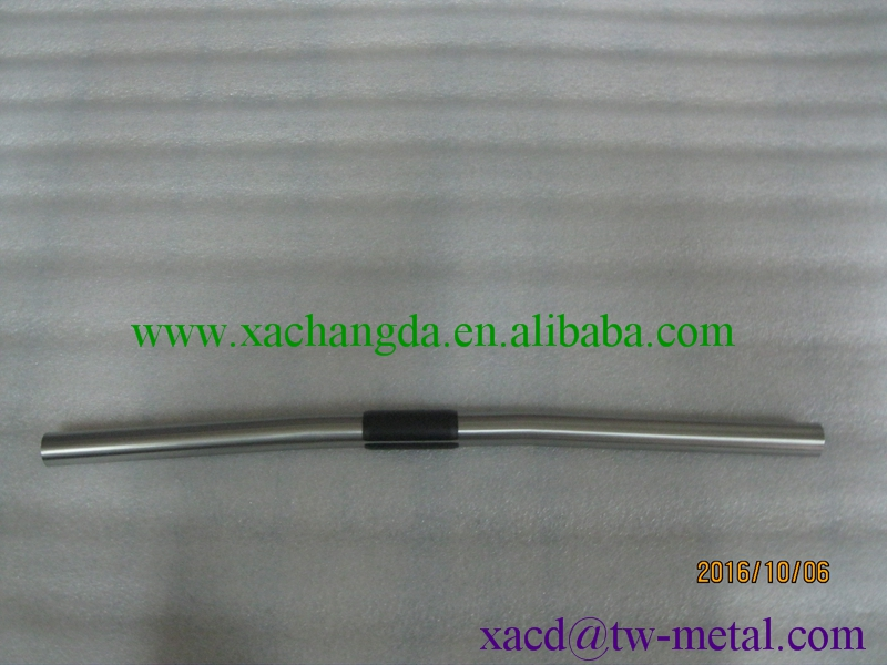 titanium mtb handle bar bicycle handle bar customized chinese made titanium handle bar