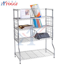 adjustable light duty chrome wire mesh shelve
