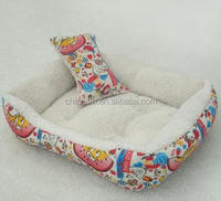 Animal Head Printed PU Leather Water Proof Dog/pet Bed/bedding/bed cover
