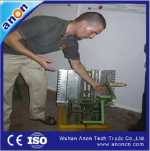 ANON high quality hand cranking paddy seed processing machine