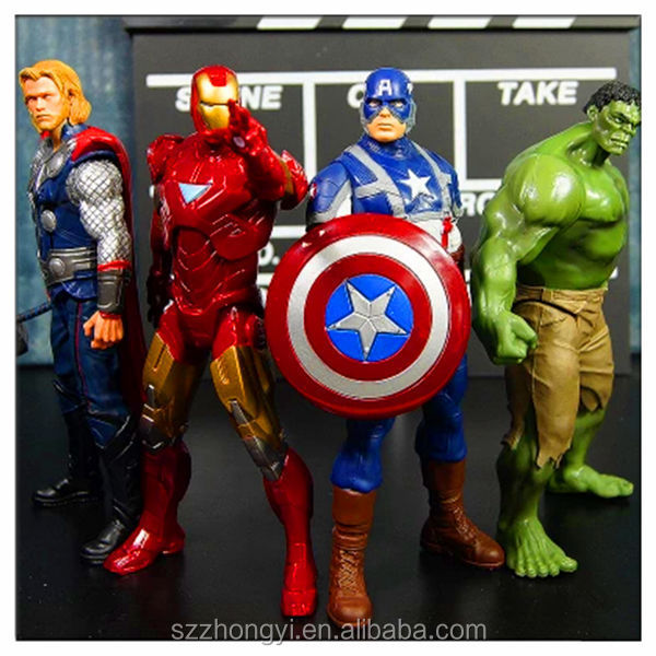 2014 China Supplier high-quality new product resin action figure, wholesale avengers