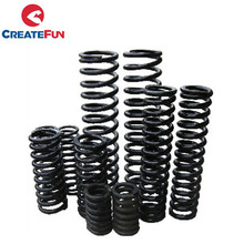 CreateFun Carbon Steel Helical Compression Springs Manufacturer