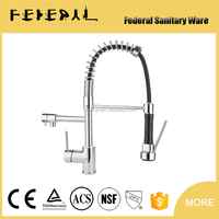 LB-8001-6 faucet China two leverl brass kitchen tap sprayers