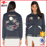 Hot Sell Ladies Apparel Custom Embroidered