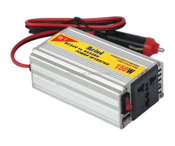 Meind High Quality Hot Sales 150W Car Power Inverter DC12V to AC220V