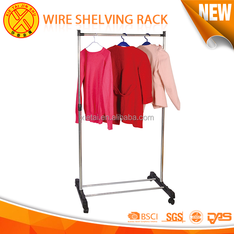 Metal clothes laundry hanger multi-function removable floor type drying clothes racks indoor
