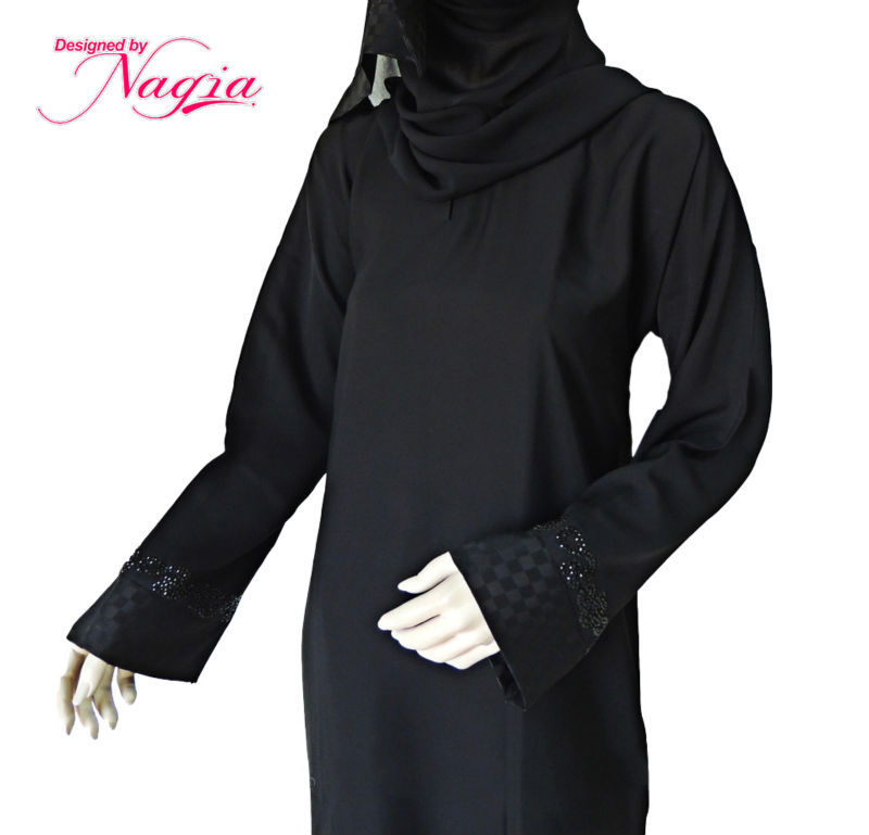 Simple Black Abaya