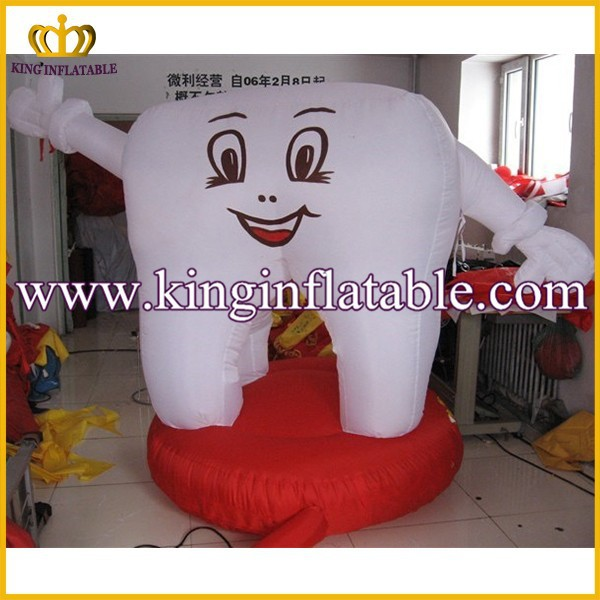 New Custom Inflatable Model Product, Inflatable Advertising Tooth