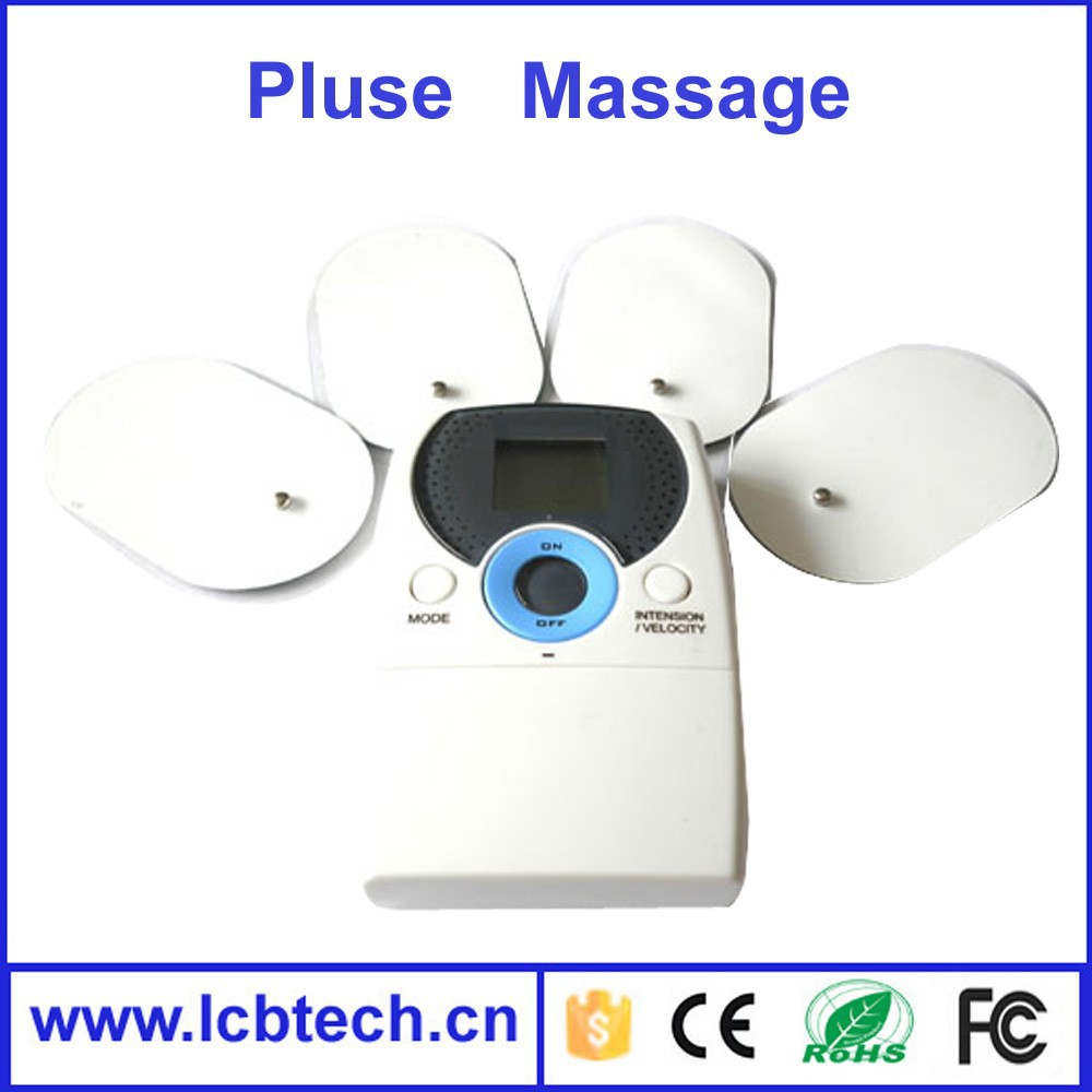 Mini stytle electric pulse Tens Acupuncture Digital Therapy Machine 1028 body slimming massager with with Display screen