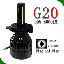 high quality car led light 4300k 5000k 6000k H1,H3,H4,H7,H8,H9,H11,H13,9004,9005,9006,9007 xenon light hid headlight