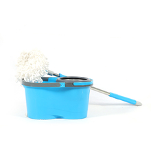 New pp tornado spin mop with folding bucket