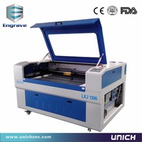 Unich LXJ1390 80w 100w 130w 150w 180w co2 laser cutting machine/paper crafts laser cutting machine