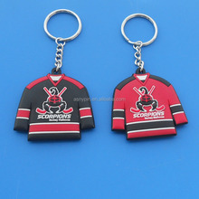 Good Quality Popular Promotional Gifts Color Engraving Soft Rubber Keychain