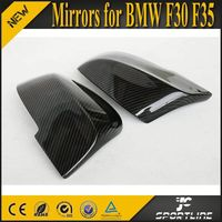 Full replacement New 3 Series F30 Carbon Fiber Mirrors For BMW F30 F20 F35 E87 2011UP