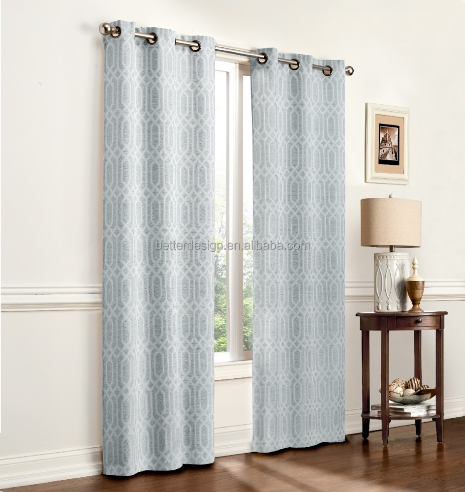 1pc door curtain for sliding window in living room with 8
