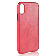 2017 Hot selling products cell phone accessories pull up crazy horse pu leather back case for iphone 7
