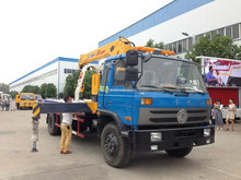 7 tons DONGFENG Truck Mounted Crane for sale
