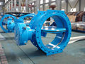 Big size flanged butterfly valve, Eccentric type