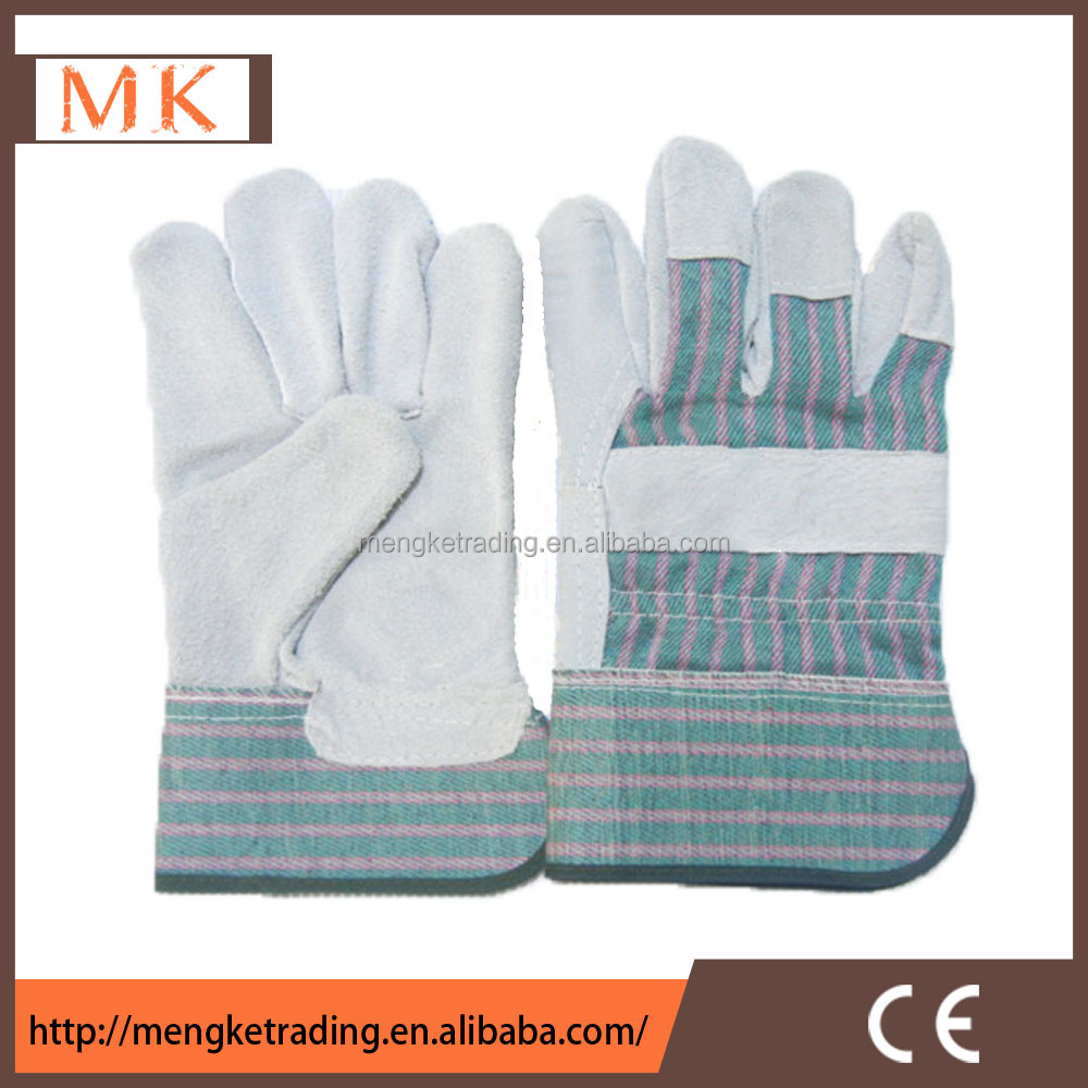 heat resistant short leather gloves, safety driving gloves
