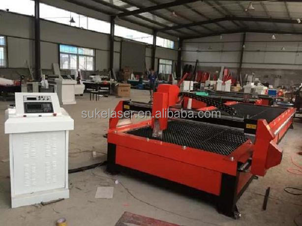 Channel steel lathe bed serrated table cnc plasma cutting machine