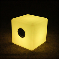 UV-resistant PE housing music stereo DongGuan factory outdoor cube speaker