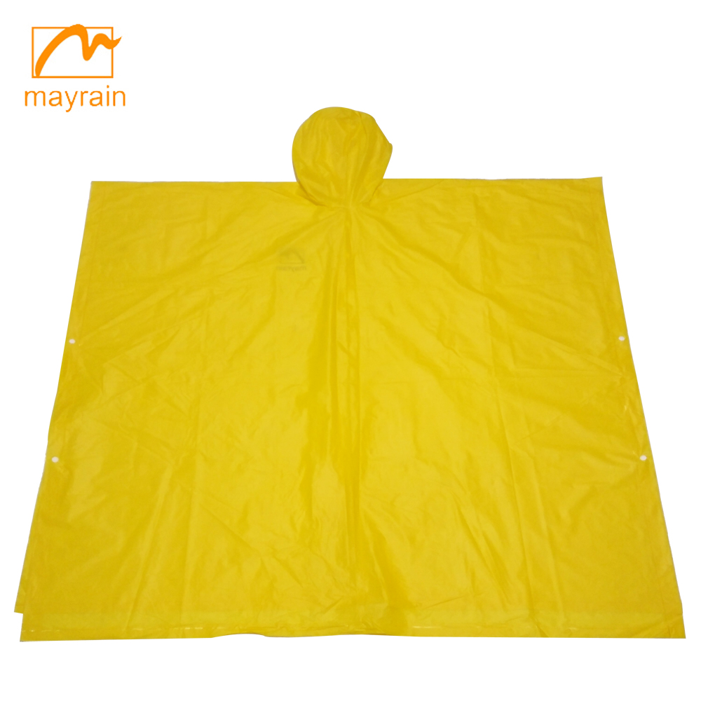2018 Reusable Adult PVC Rain Poncho/Disposable Rain Poncho