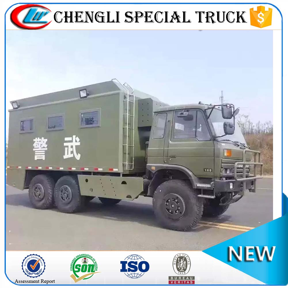 Dongfeng 6x6 All-wheel Drive Off-road Miltary Army Camp Mobile Dining Truck for sale