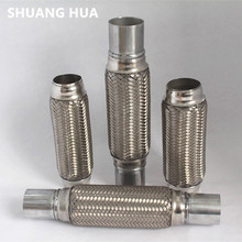 Stainless steel material auto exhaust system components exhaust flexible pipe/exhaust flexible joints