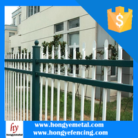 High Security Aluminum Flat Top Pool Fence For USA CA AU NZ Market