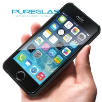 Pureglas anti impact anti shock color tempered glass screen protector for iphone 5