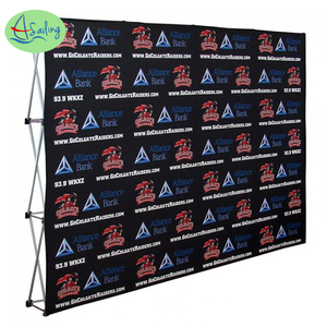 TV Media backdrop, Sponsor board, logo wall, step and repeat banners