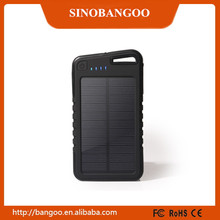 New Model 2015 Outdoor Emergency Solar Charger 5000mah power bank