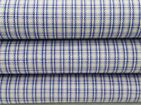 60 cotton 40 polyester cvc check fabric for shirt