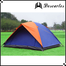 Ultralight 2 Person Beach Canvas camping Tent Waterproof Folding Double Layer 3 Season Tente