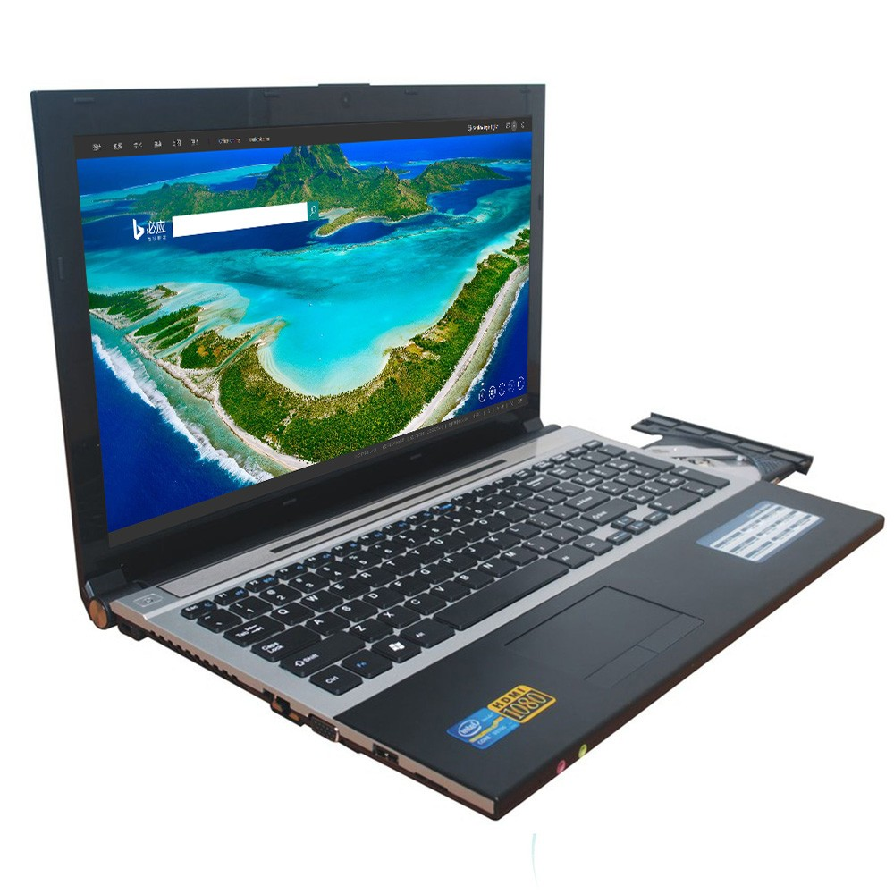 Cheapest 15.6 inch Intel i7 Cpu 8G Ram 60G SSD and 750GB HDD laptops