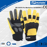 RS SAFETY hot selling 3D mesh microfiber and SBR outlined neoprene coating glove