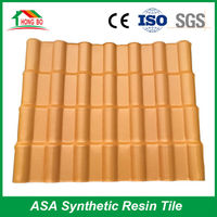 China manufacturer Superior Heat Insulated synthetic spanish plastic shingles