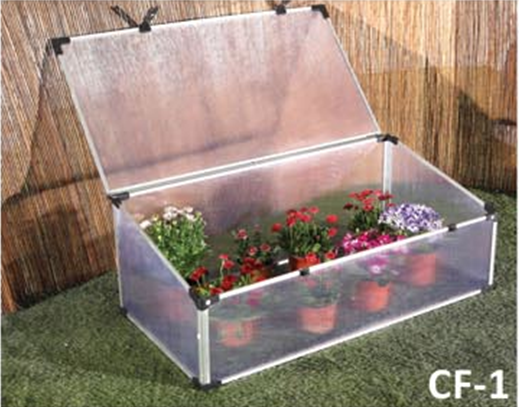 MINI GREENHOUSE ALUMINIUM COLD FRAME