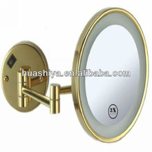 HSY-1170A battery led light unique led bathroom mirror