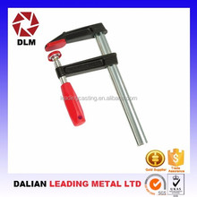 High quality OEM customize malleable cast iron quick release clamps of metalworking connection position fastening bar clamp