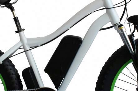 Tornado,full suspension mountain electric bike with 26 inch big wheel