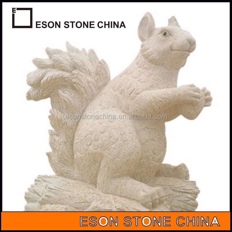 eson stone 87 cute squirrel animal chinese stone carving
