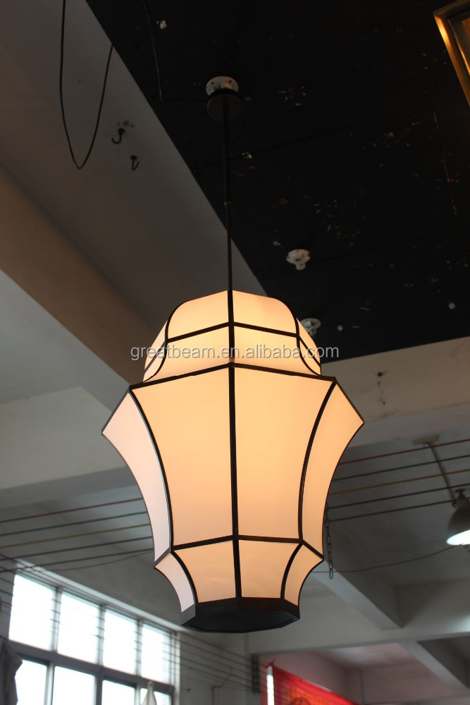 Latest Design Morden Style Fabric Pendant Lamp For Hotel Project