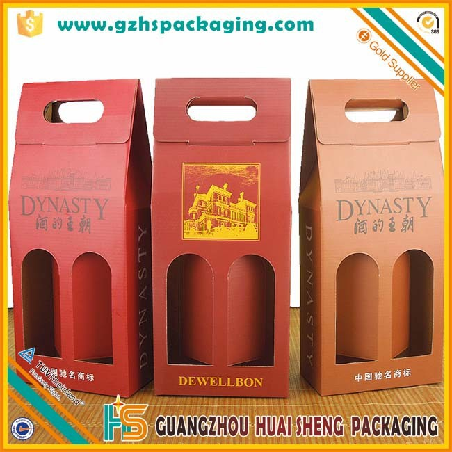 factory wholesale paper cardboard box for beer bottle packaging