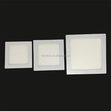 3W mini 90mm size 75mm cut-out 15*SMD2835 square led panel recessed light ultra-thin small size ceiling down lighting