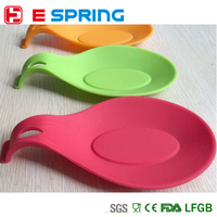 Multipurpose Silicone Golden Rule Kitchen Tools Silicone Pot Holder Spoon Rest Holder