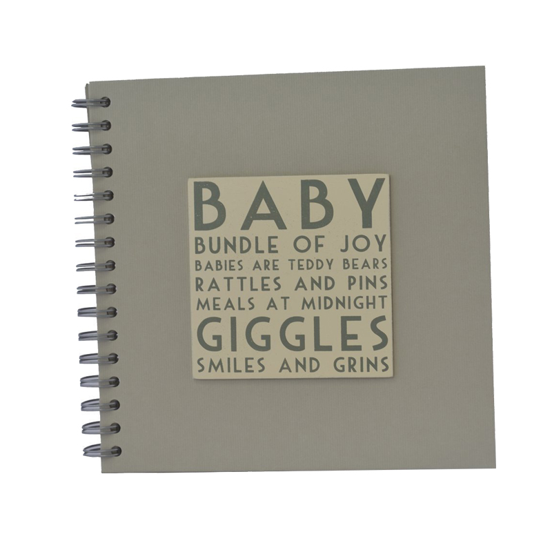 Custom Design Blank Inner Page Wholesale Baby Memory Book