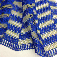 African single color cord fabric for wedding/party dress african cord lace fabric